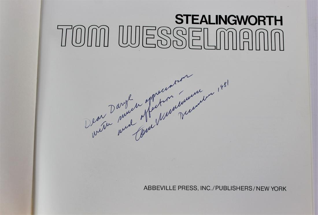 Book Signed by Tom Wesselmann, Tom Wesselmann - 2