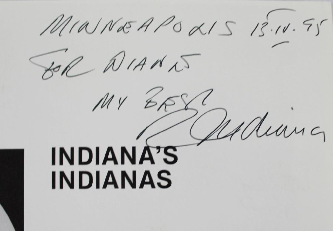 Book Signed by Robert Indiana, Indiana's Indianas - 2