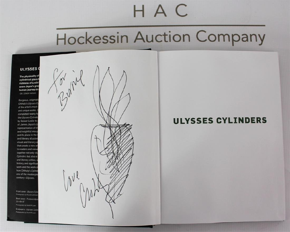 Book Signed by Dale Chihuly, Ulysses Cylinders