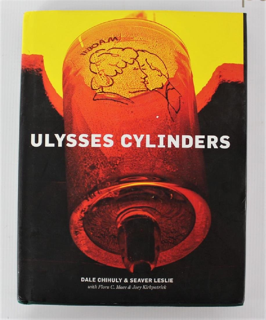 Book Signed by Dale Chihuly, Ulysses Cylinders - 3