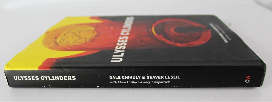 Book Signed by Dale Chihuly, Ulysses Cylinders - 5