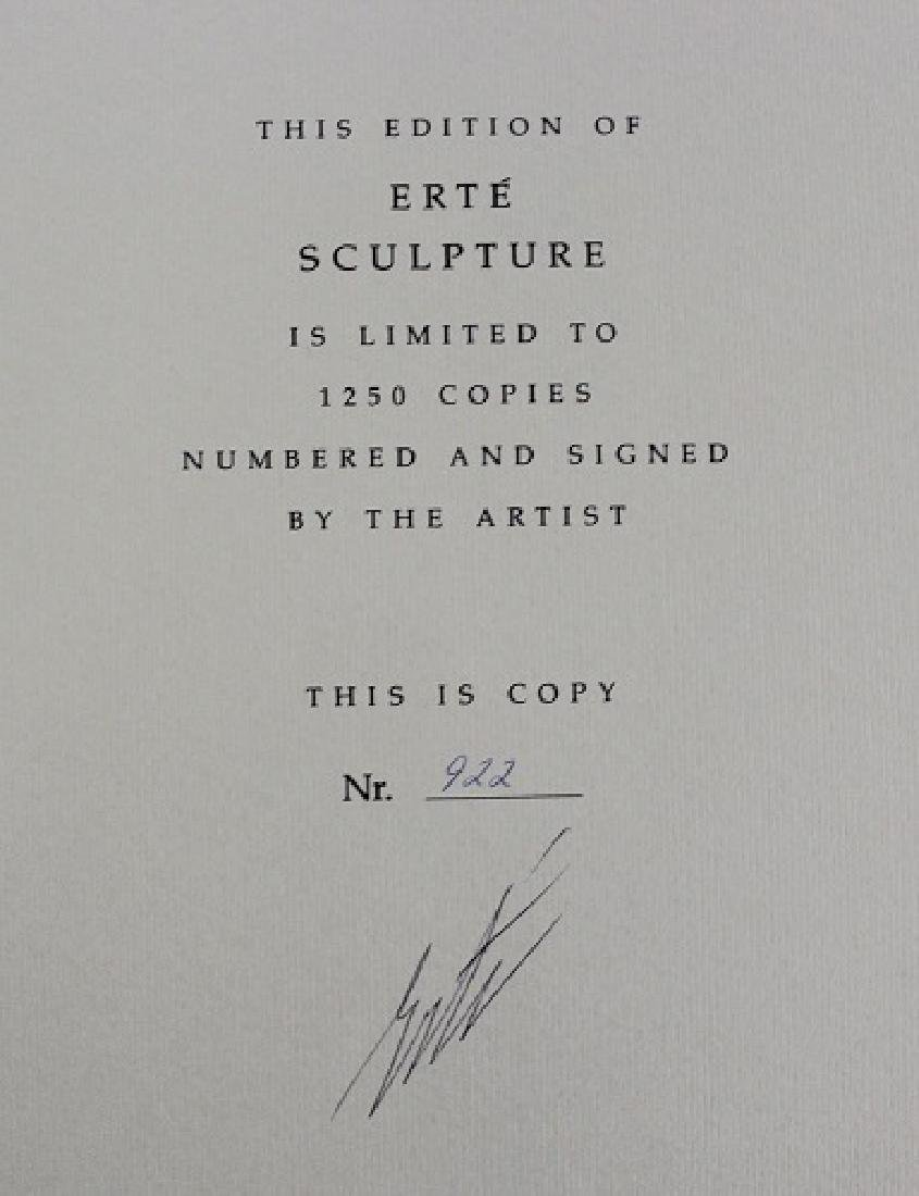 Book Signed by Erte, Erte Sculpture - 2