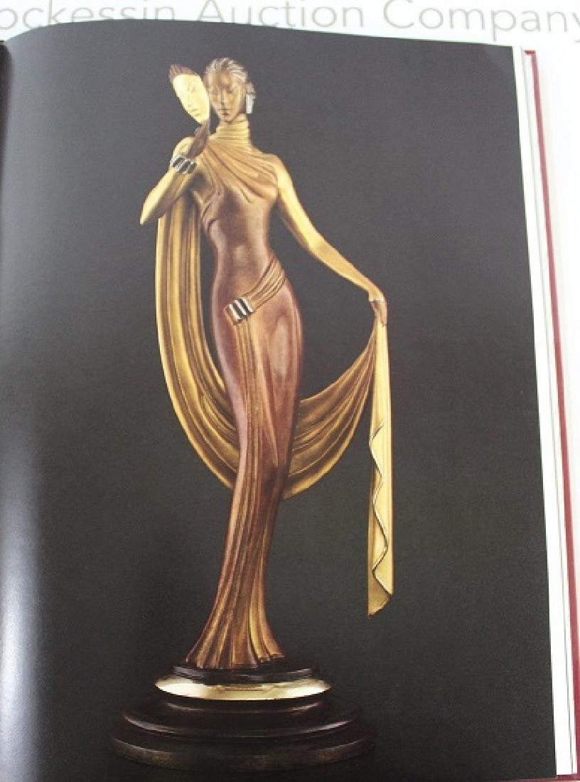 Book Signed by Erte, Erte Sculpture - 4