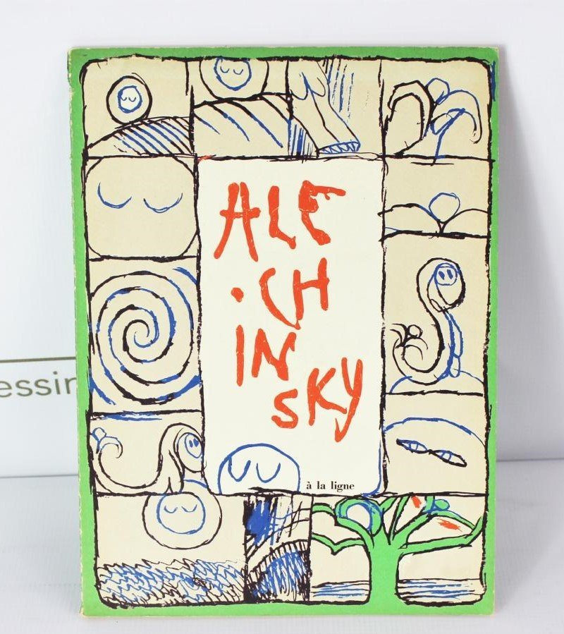 Book Signed by Pierre Alechinsky