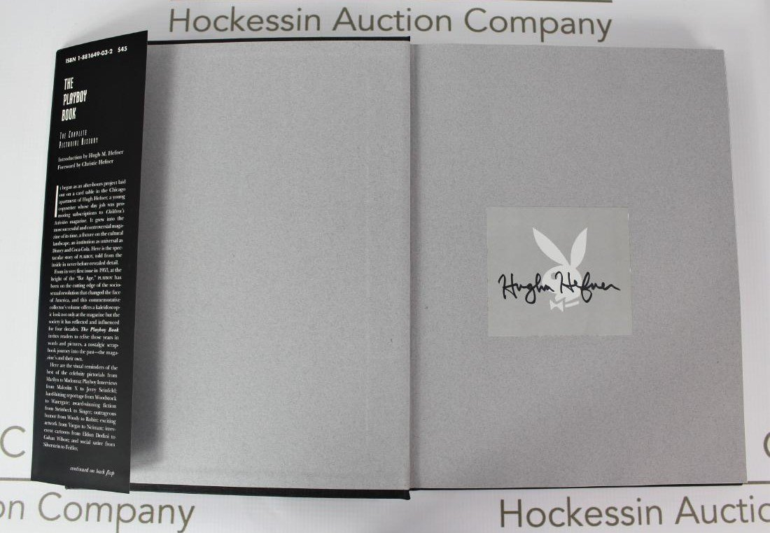 Book Signed by Hugh Heffner, Forty Years