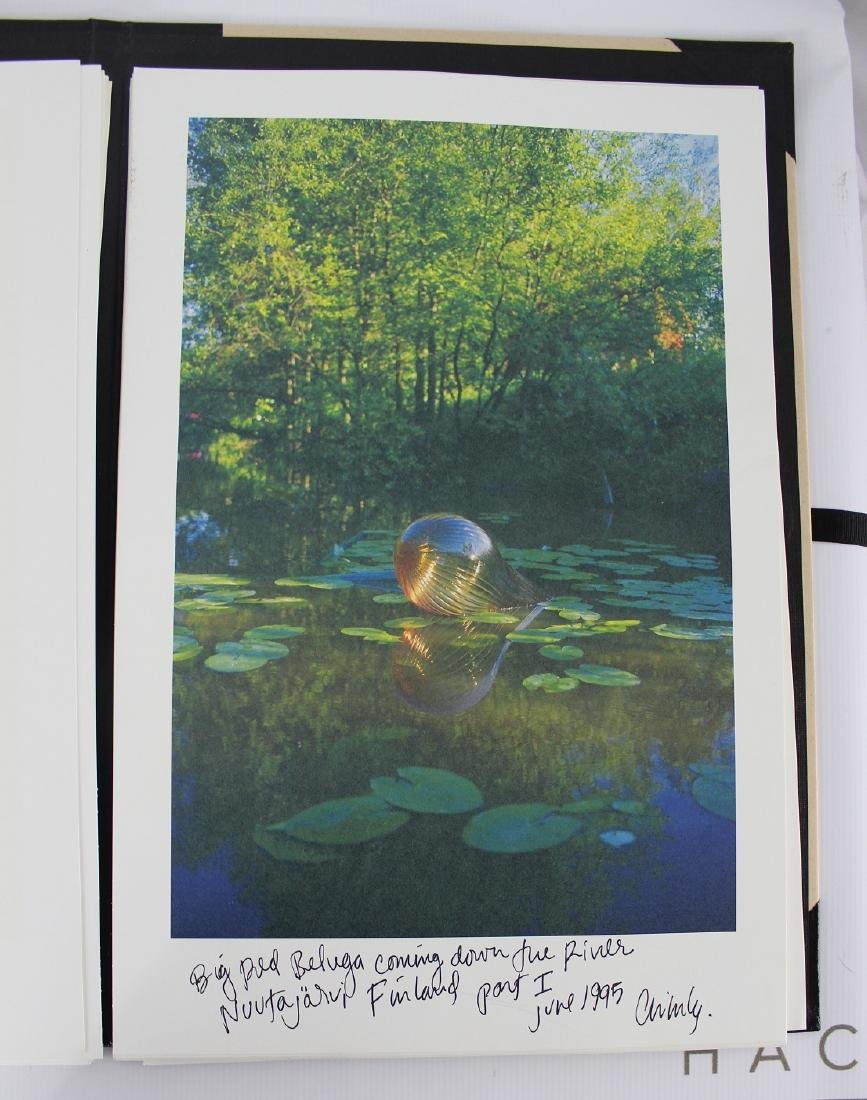 Portfolio Signed by Dale Chihuly, CHIHULY OVER VENICE - 2