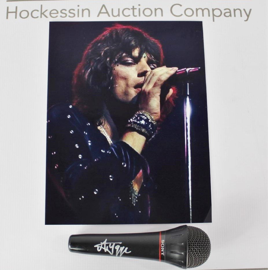 Signed Microphone (Mick Jagger)