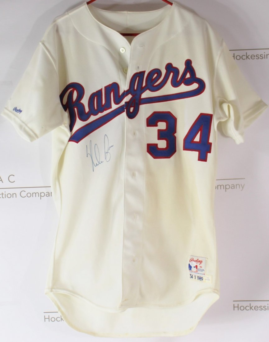 Nolan Ryan Game Worn Jersey