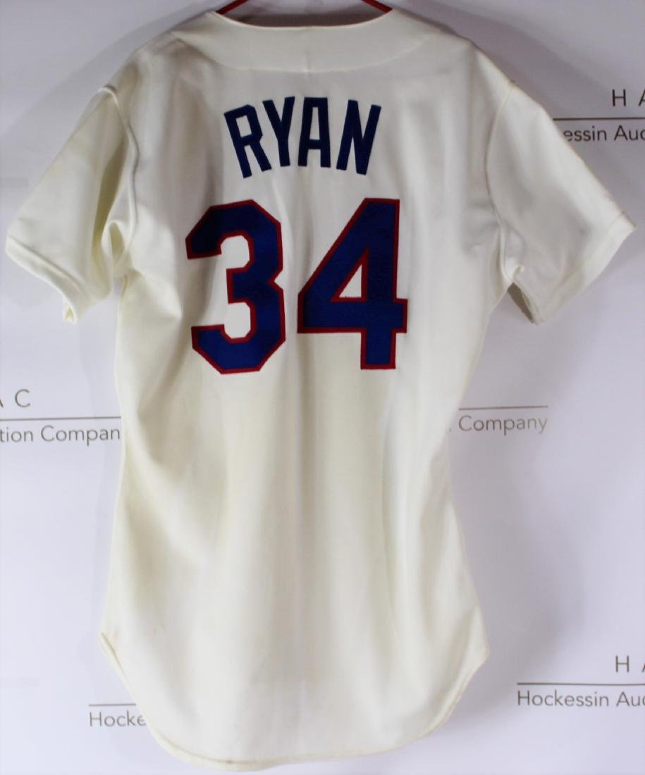 Nolan Ryan Game Worn Jersey - 7