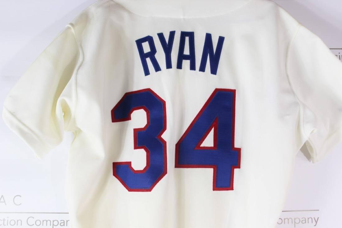 Nolan Ryan Game Worn Jersey - 8