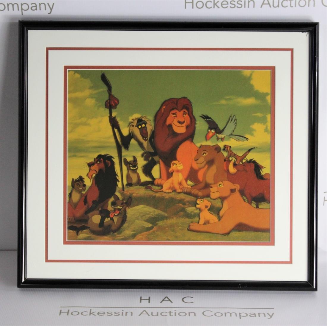 Walt Disney Studios Lithograph