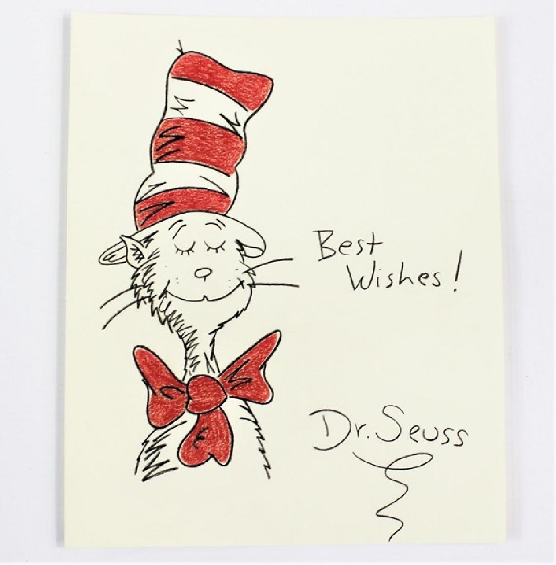 Dr Seuss (American, 1904-1991)