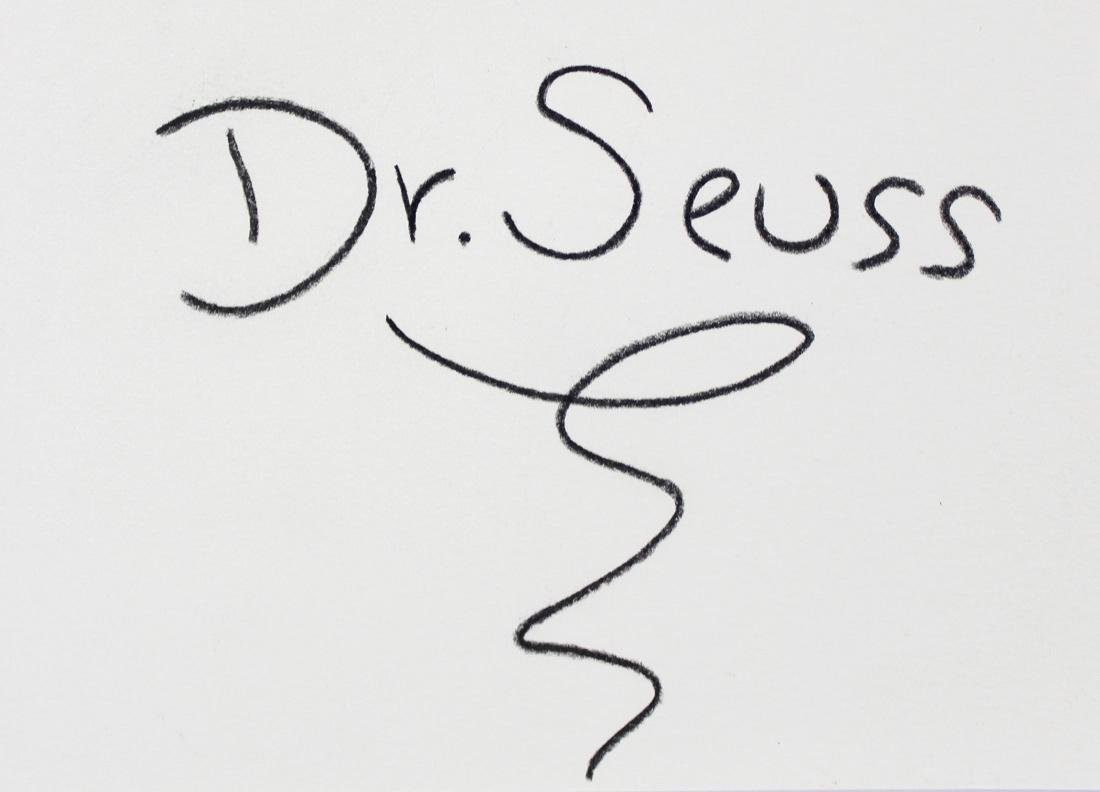 Dr Seuss (American, 1904-1991) - 2