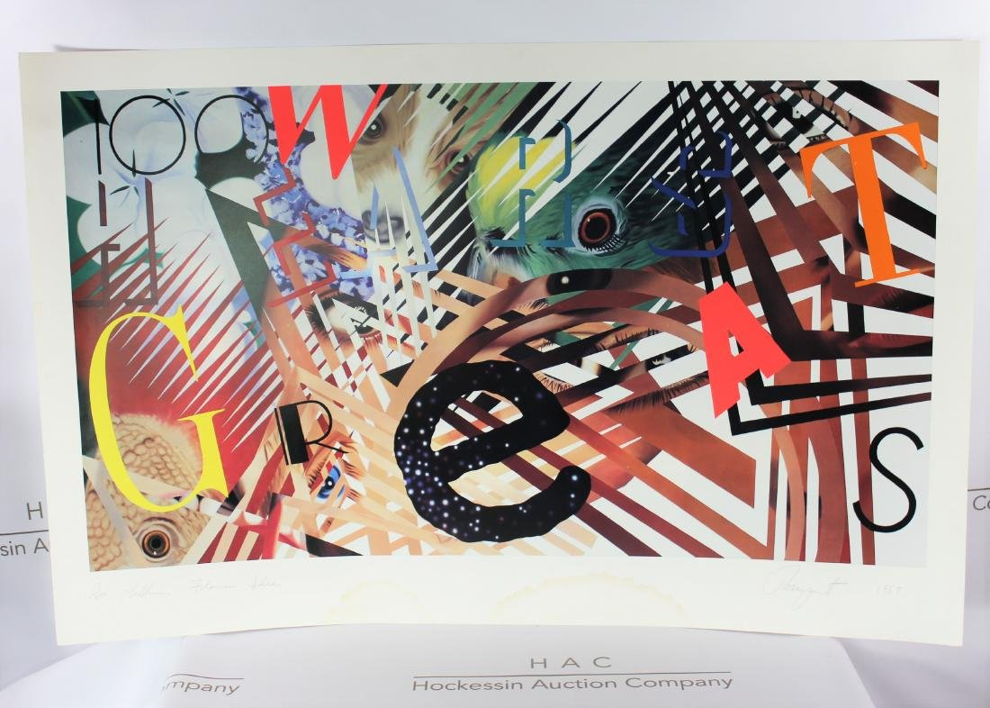 James Rosenquist (American, 1933-2017)