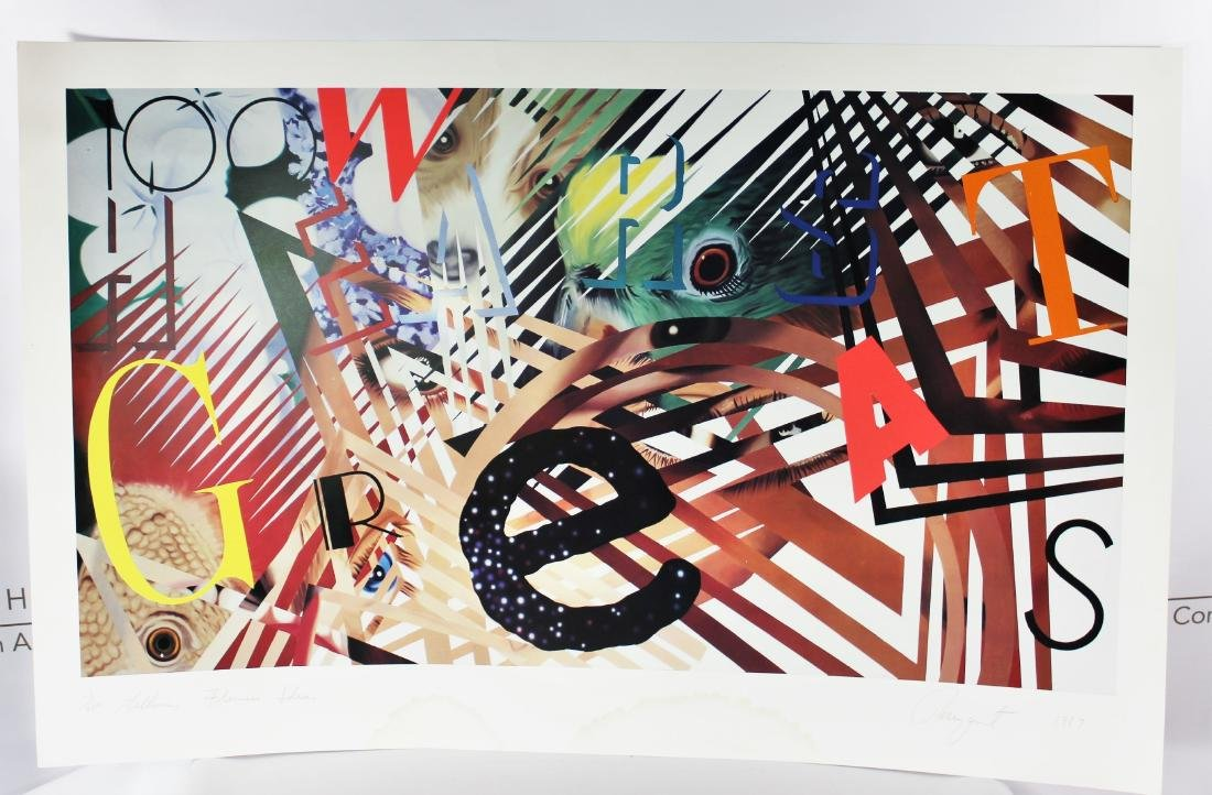 James Rosenquist (American, 1933-2017) - 2
