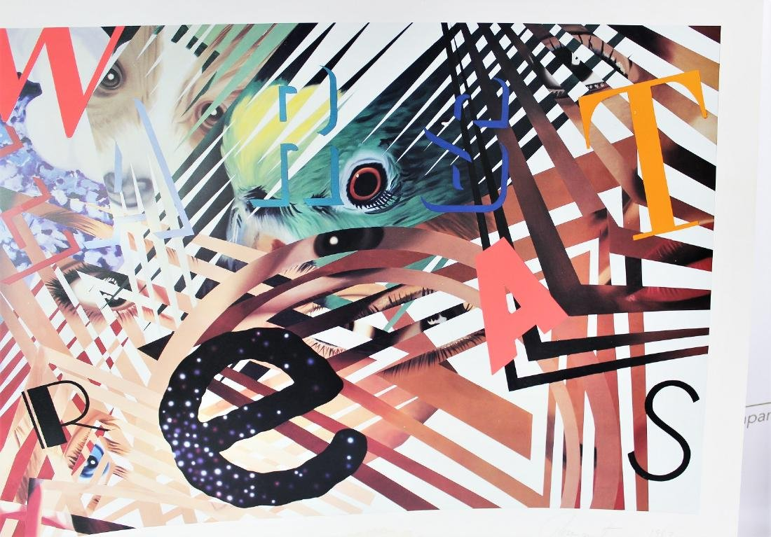 James Rosenquist (American, 1933-2017) - 5