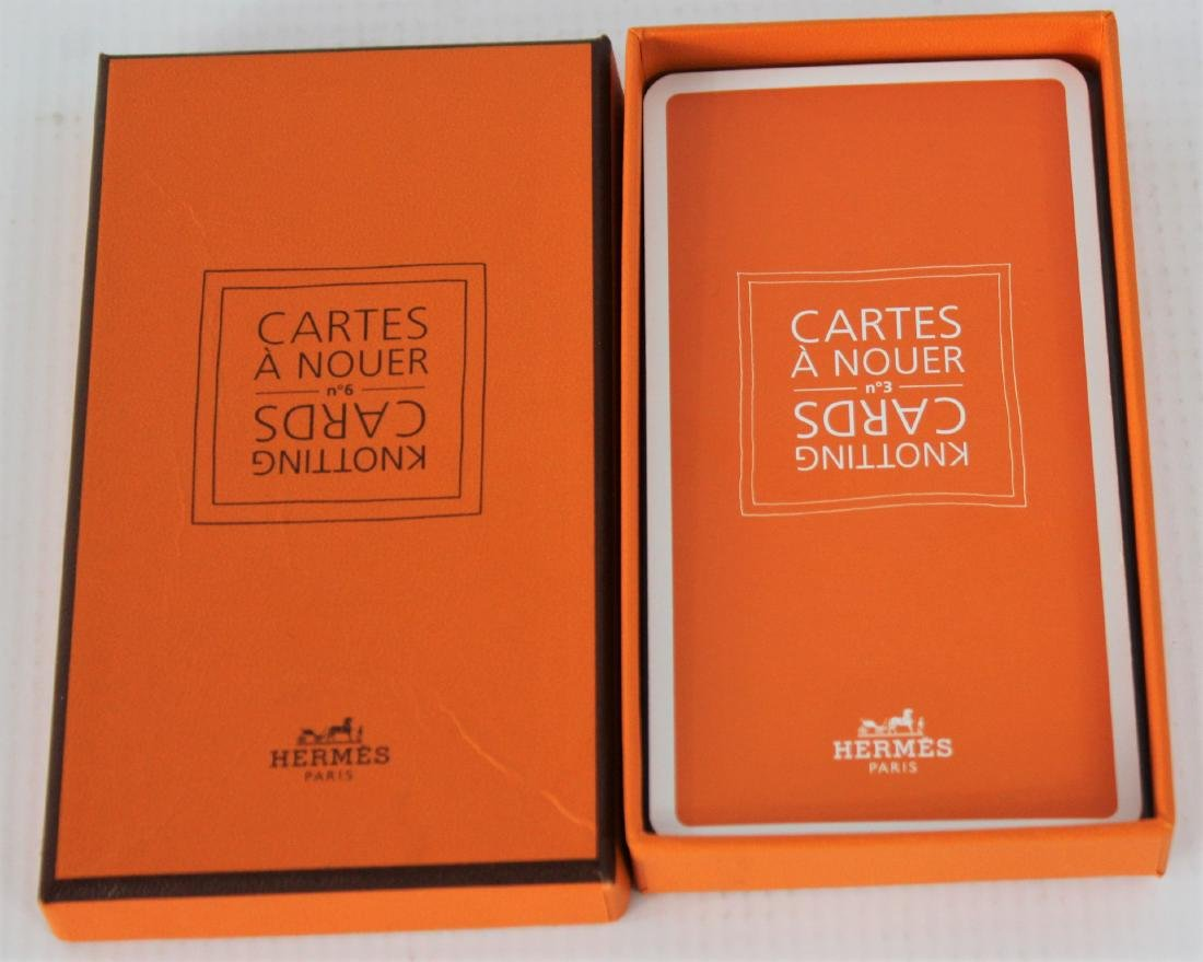 Hermes Scarf Collector's Cards - 7