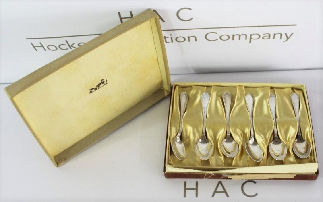 Hermes Sterling Silver Spoons