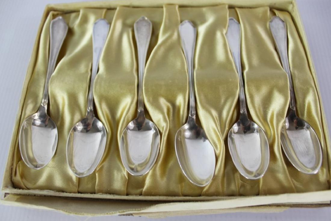Hermes Sterling Silver Spoons - 3