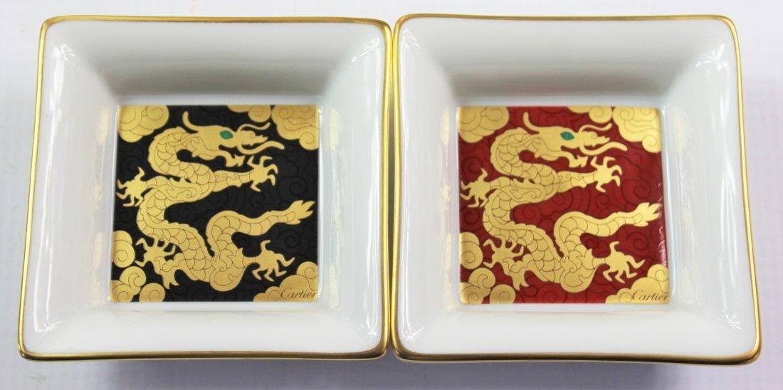 Cartier Porcelain Trays - 2