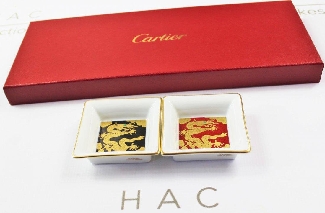 Cartier Porcelain Trays - 3