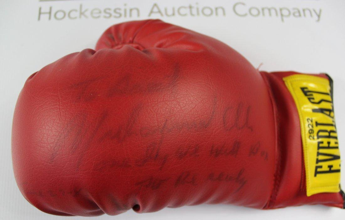 Boxing Glove Signed by Muhammad Ali - 2
