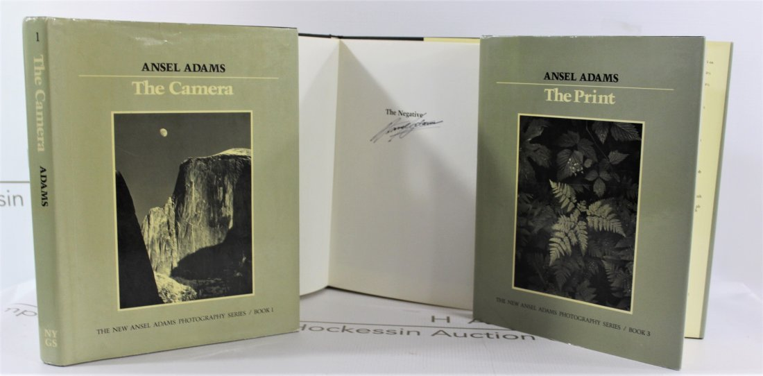 Books Signed by Ansel Adams