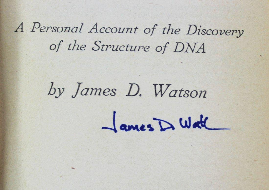 Book Signed by James D. Watson - 2