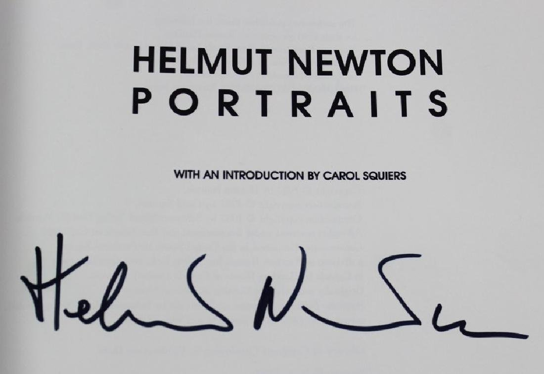 Book Signed by Helmut Newton - 2