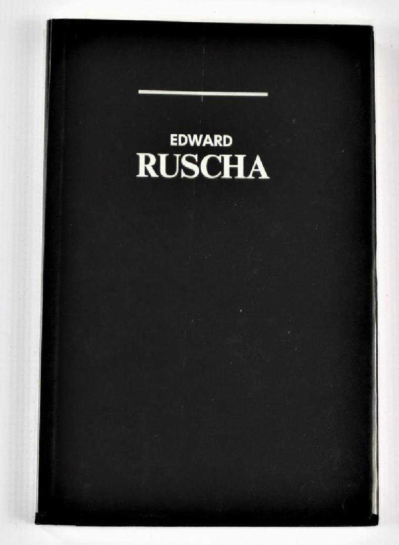 Book Signed by Edward Ruscha - 2