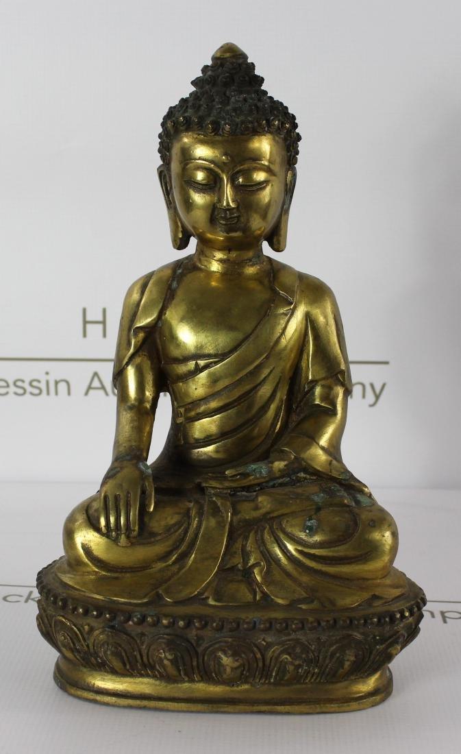 Chinese Bronze Budha