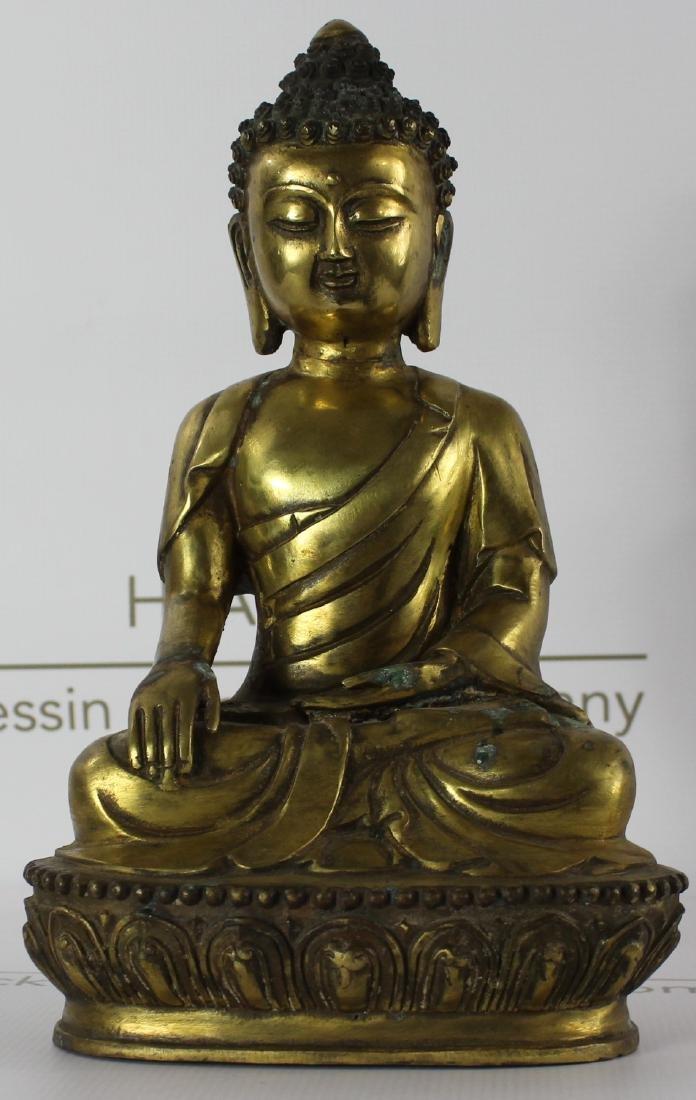 Chinese Bronze Budha - 2