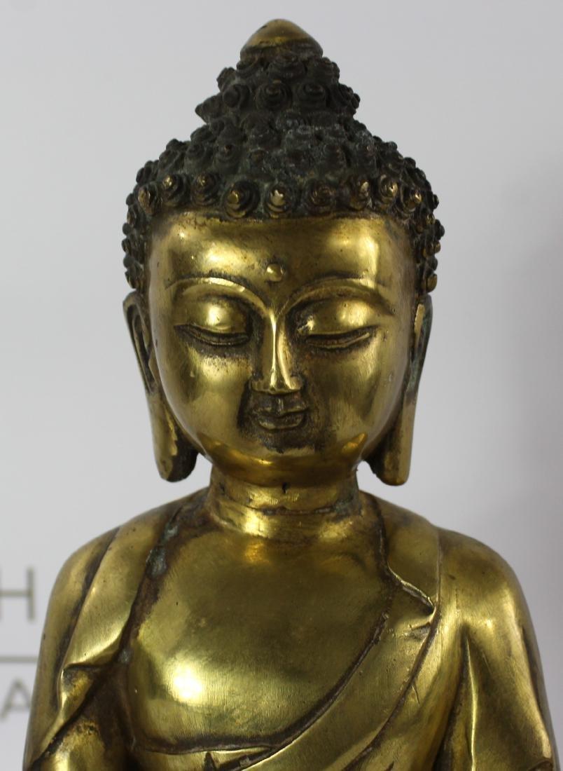 Chinese Bronze Budha - 5