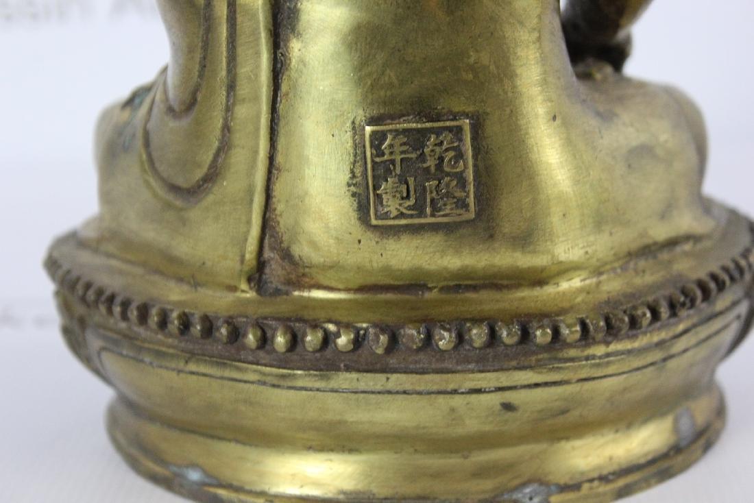 Chinese Bronze Budha - 8