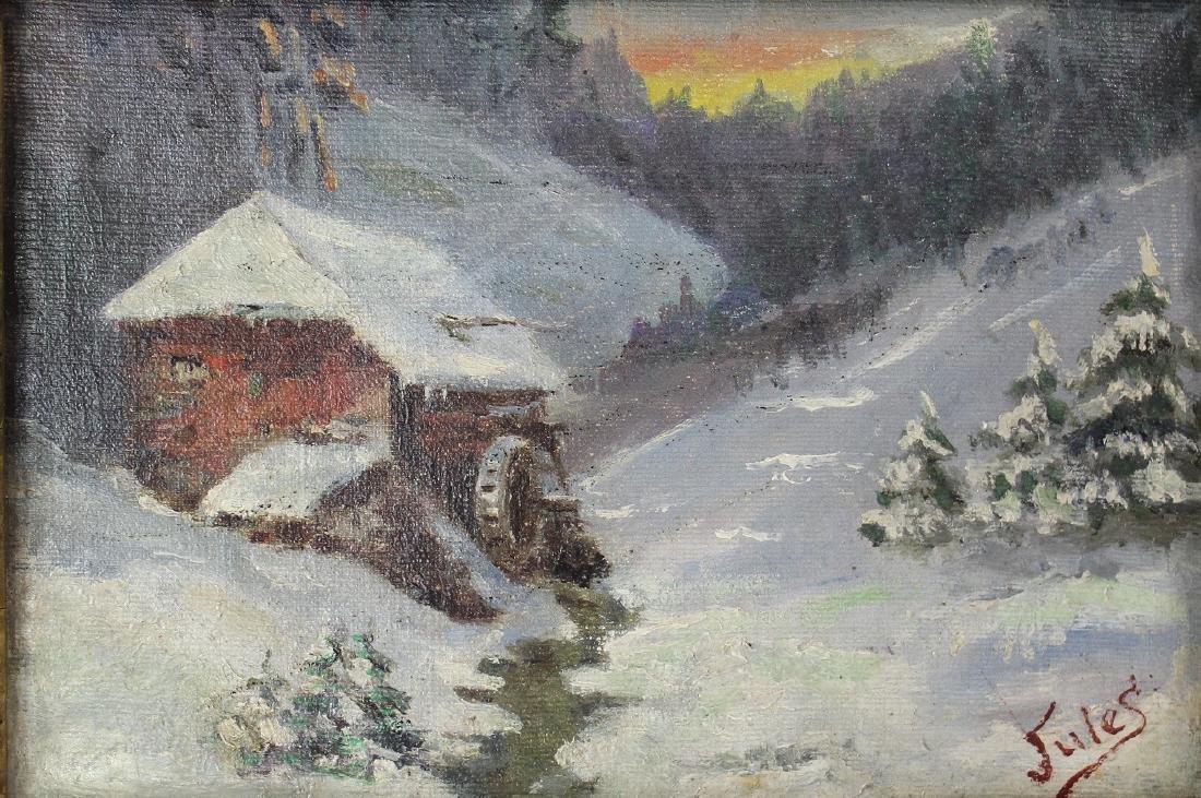 Jules Dahlager (American, 1884-1952) - 2
