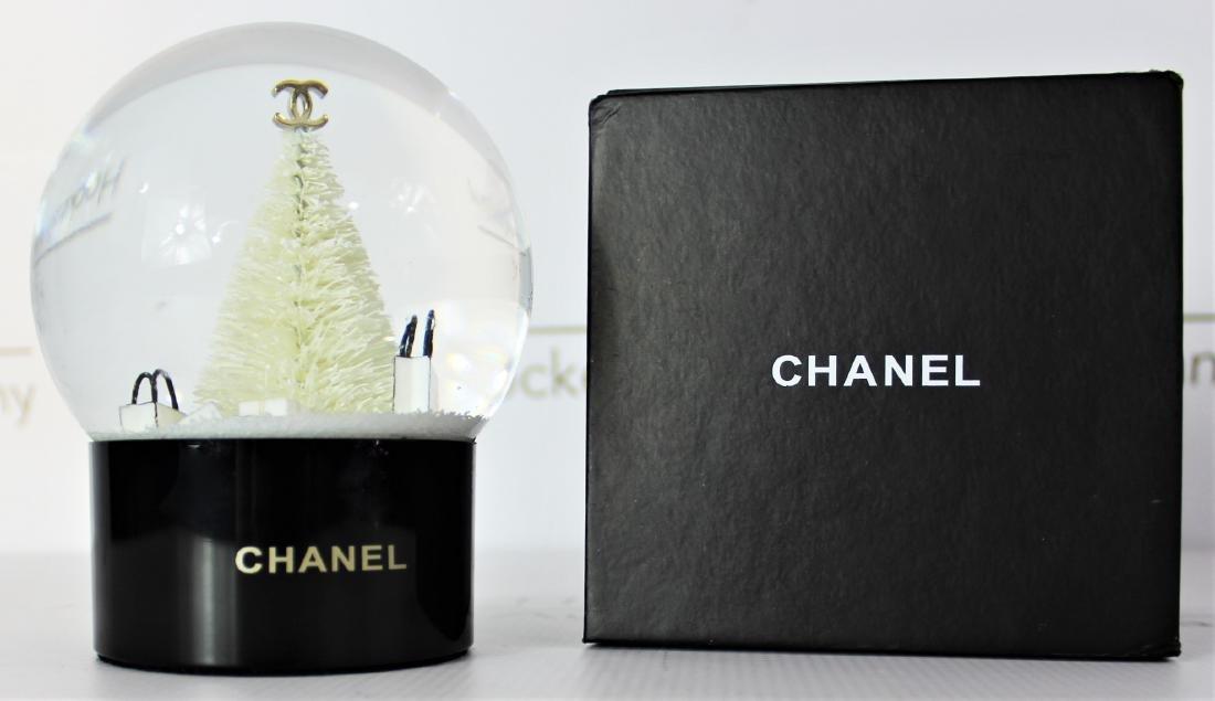 Chanel Snowglobe