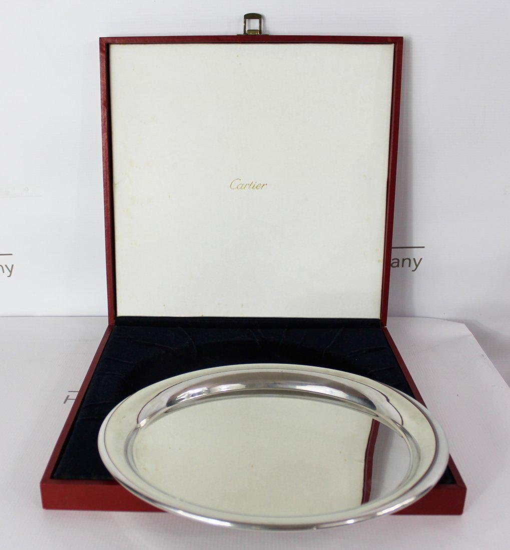 Cartier Stering Silver Plate