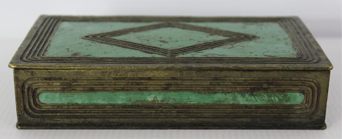 Antique Tiffany Studios Bronze Box