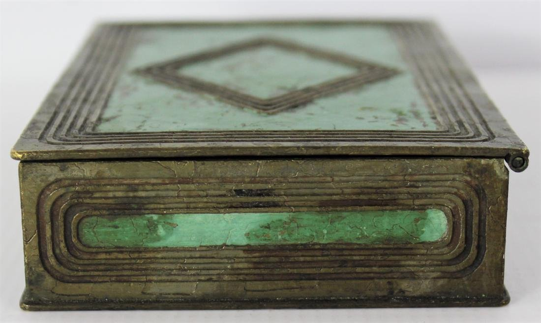 Antique Tiffany Studios Bronze Box - 3