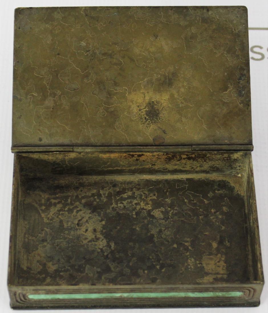 Antique Tiffany Studios Bronze Box - 5