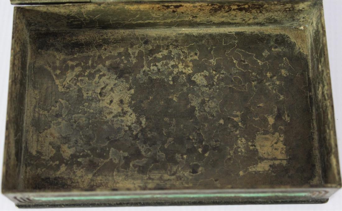 Antique Tiffany Studios Bronze Box - 6
