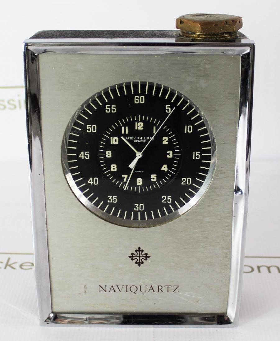 Patek Philippe Naviquartz Table Clock