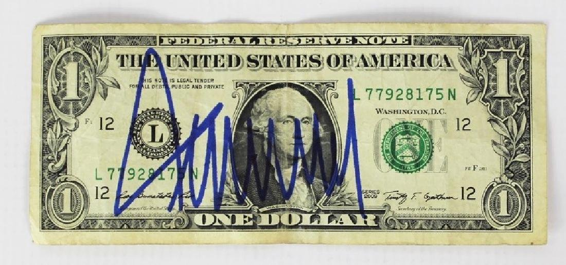 Bill Signed by Donald Trump
