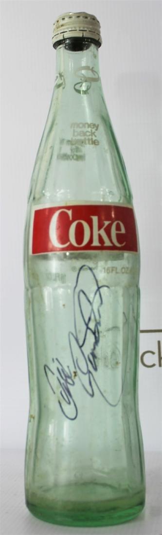 Coca Cola Bottle Signed by Dale Earnhardt Sr