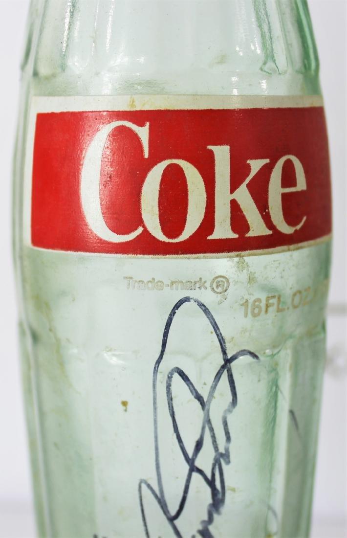 Coca Cola Bottle Signed by Dale Earnhardt Sr - 4