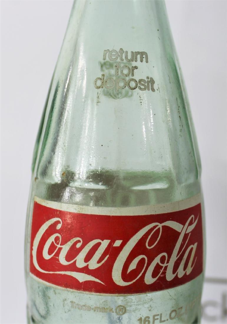 Coca Cola Bottle Signed by Dale Earnhardt Sr - 5