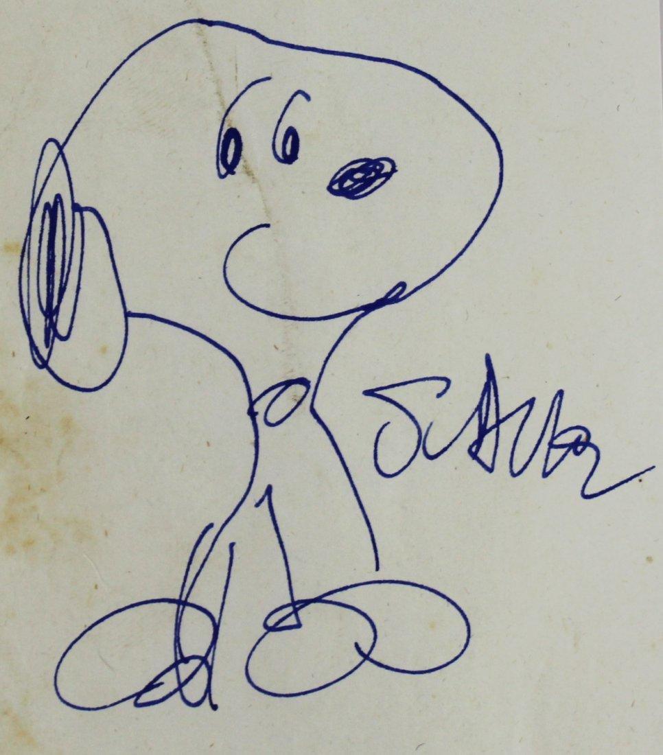 Charles M Schulz (American, 1922-2000) - 2