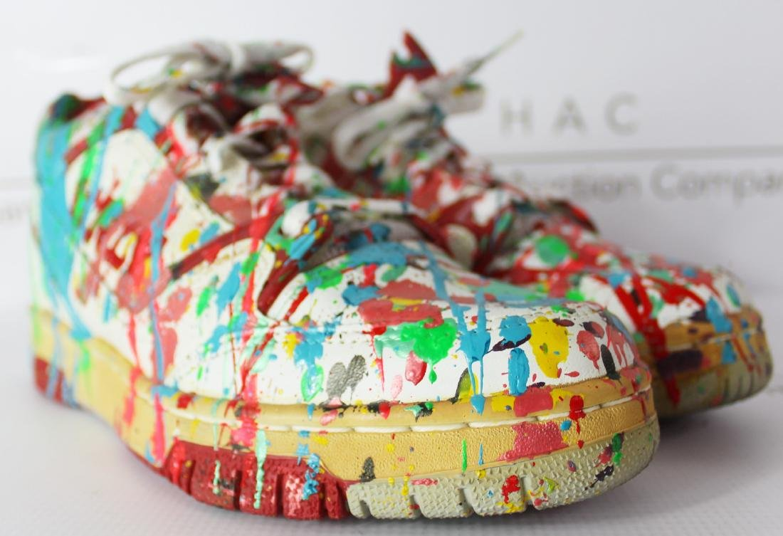Dale Chihuly Painted Studio Shoes - 2