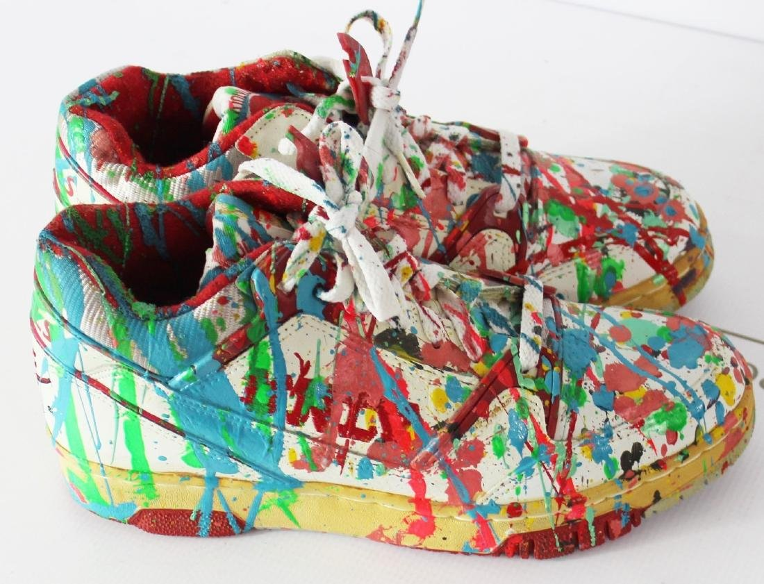 Dale Chihuly Painted Studio Shoes - 3