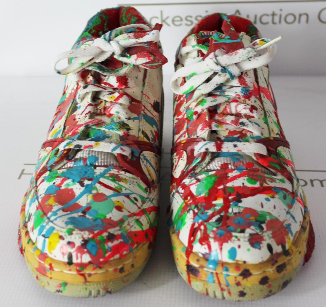 Dale Chihuly Painted Studio Shoes - 5
